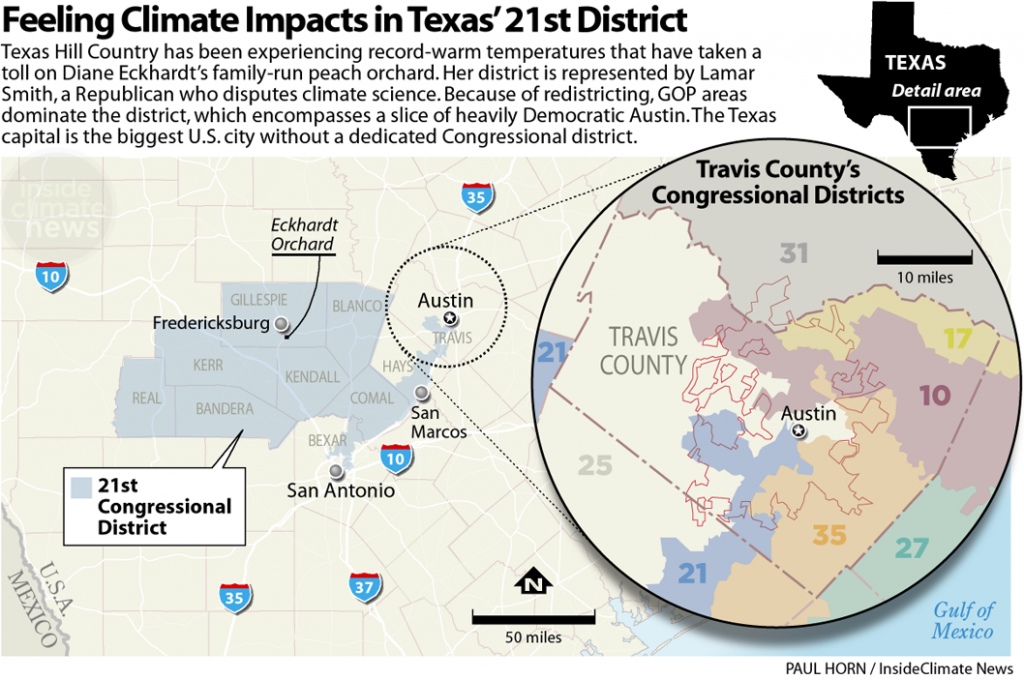 Feeling Climate Impacts in Texas' 21st District