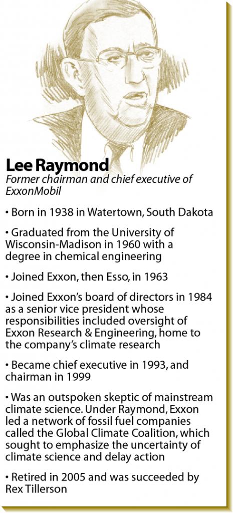 Lee Raymond bio