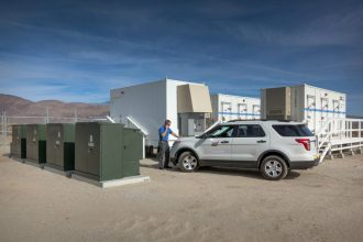 Borrego Springs, California's microgrid storage. Credit: San Diego Gas & Electric