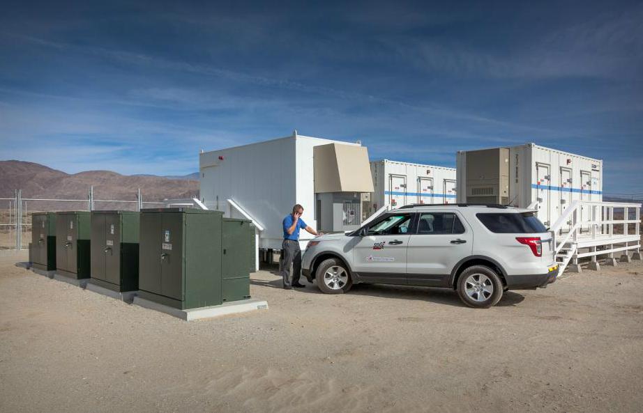 Borrego Springs, California's microgrid storage. Credit: San Diego Gas & Electric