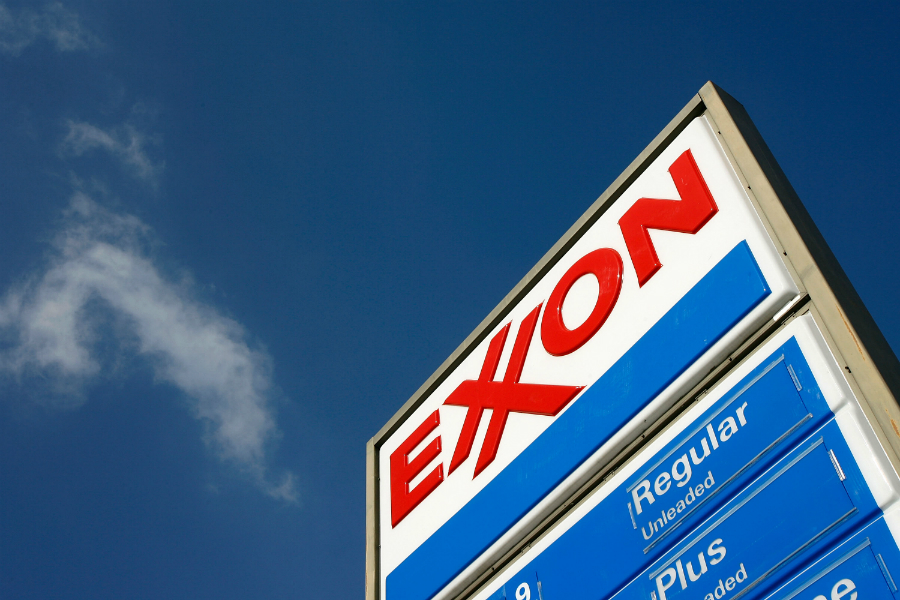 """Exxon told the SEC it would begin disclosures that include """"energy demand sensitivities, implications of two degree Celsius scenarios, and positioning for a lower-carbon future."""" Credit: David McNew/Getty Images"""