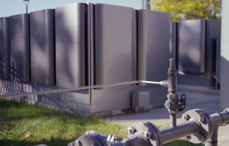 Hartford, Connecticut's microgrid is in the center of the city and runs on fuel cells. Credit: Constellation Energy