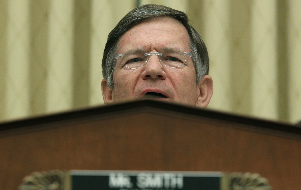 Lamar Smith. Credit: Mark Wilson/Getty Images