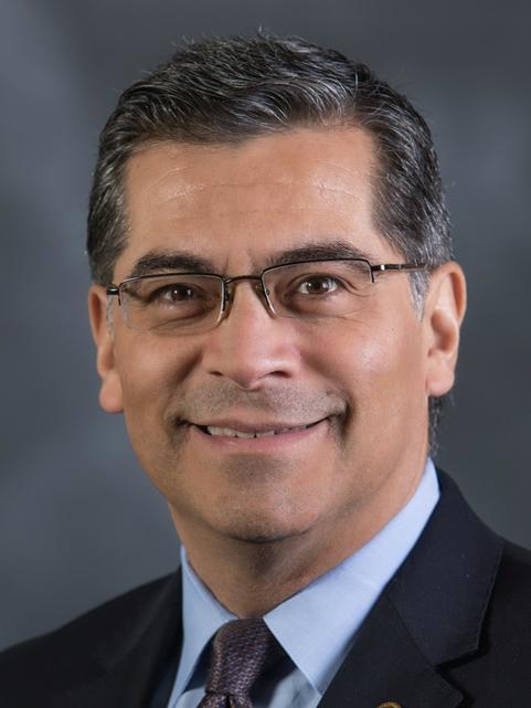 California Attorney General Xavier Bacerra. Credit: State of California