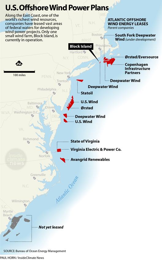 U.S. Offshore Wind Power Plans