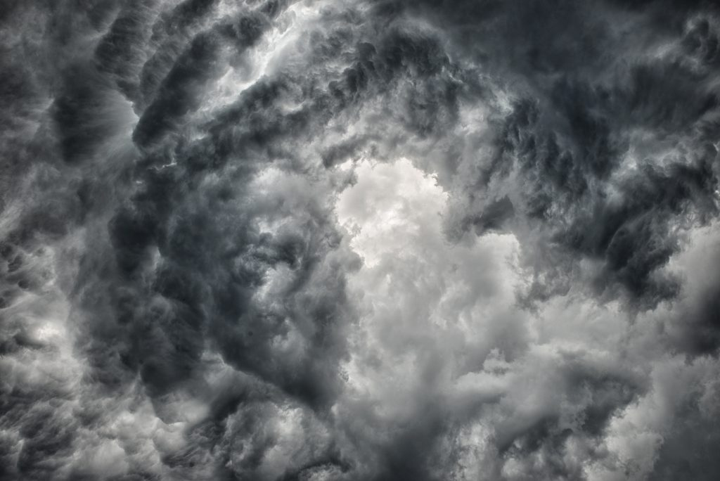 Thunderstorm clouds, called Deep Convective Clouds, can be impacted by tiny aerosol particles