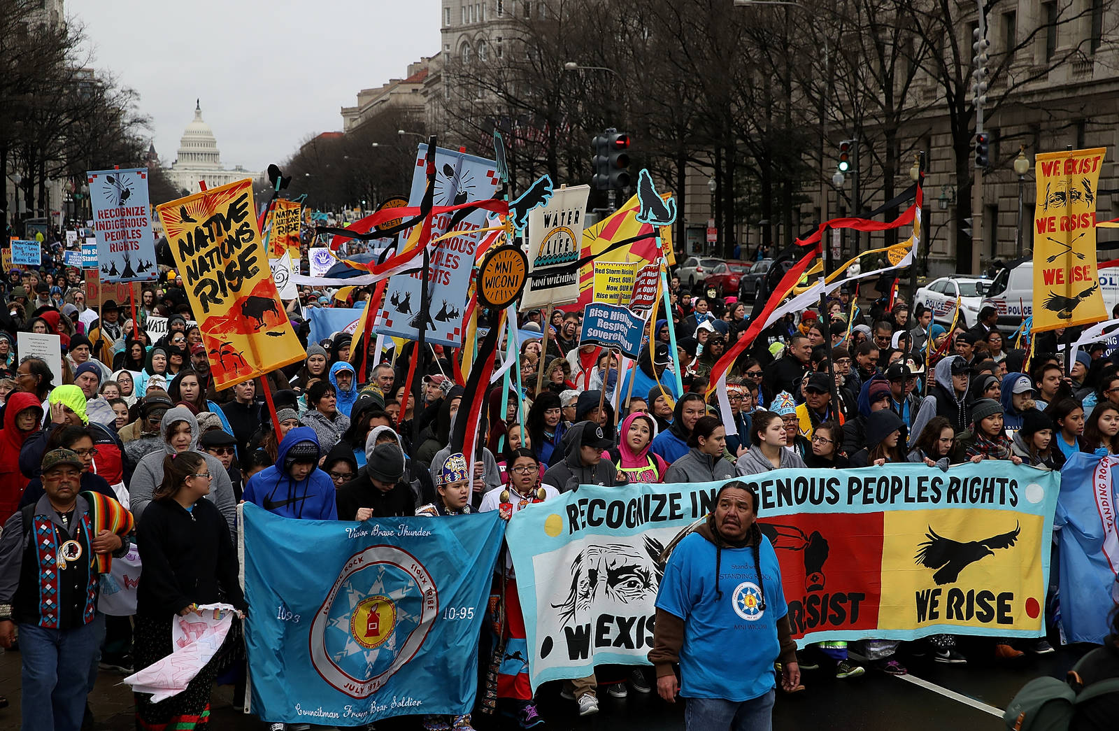 For a movement historically led by white males, advocates from low-income and minority communities across the country are providing a powerful, new voice on environmental issues. Credit: Justin Sullivan/Getty Images