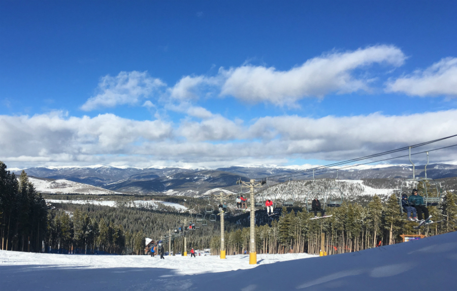 Ski slopes at Breckenridge in Colorado. Credit: Christine Warner Hawks/CC-BY-2.0