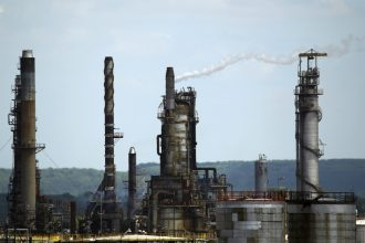 ExxonMobil refinery. Joel Saget/Getty Images