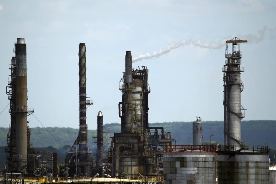 ExxonMobil refinery. Joel Saget/Getty Images