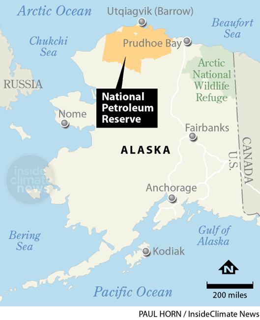 The National Petroleum Reserve Area in Alaska