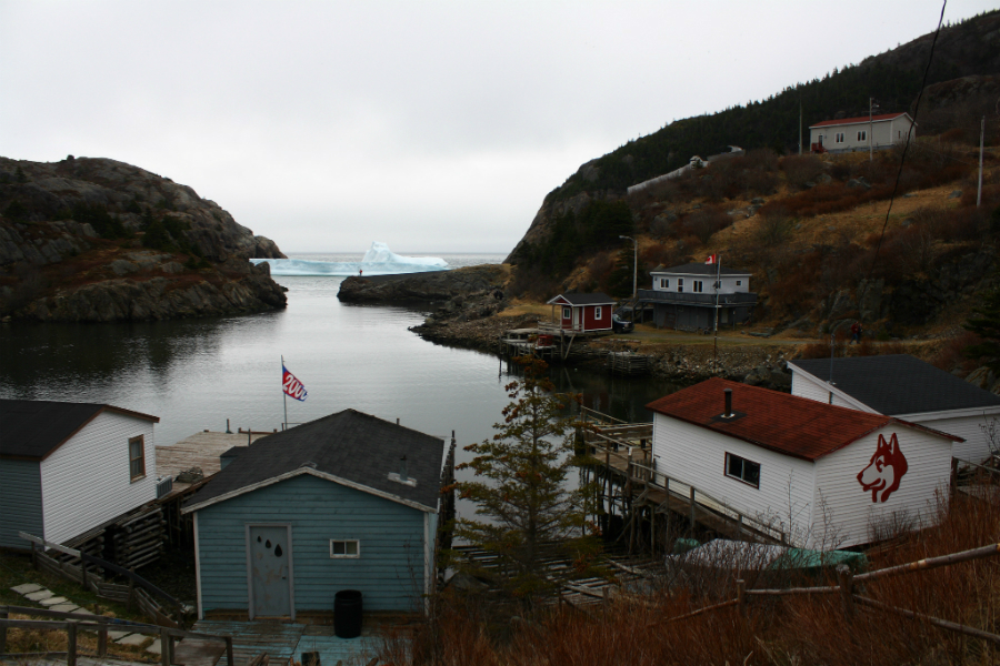 An iceberg blocked St. John's Quidi Vidi harbor in Newfoundland in 2012. Credit: Theo Jerrett-Enns/CC-BY-SA-2.0
