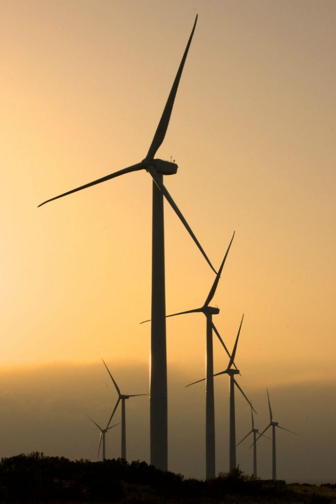 GE equipment is repowering two Leeward Energy wind farms near Sweetwater, Texas. Credit: GE