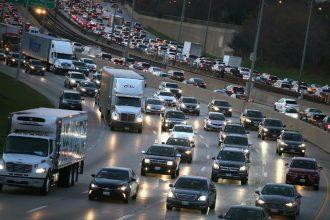 Chicago traffic. Credit: Scott Olson/Getty Images