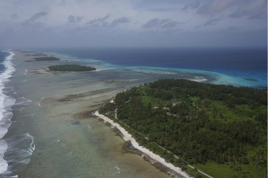 Kwajalein Atoll. Credit: Thomas Reiss/USGS
