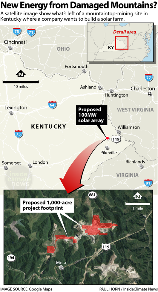New Energy from Damaged Mountains: A Solar Farm Is Planned in Kentucky Coal Country
