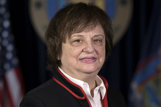 New York Solicitor General Barbara Underwood was sworn in on May 8 as acting attorney general. Credit: State of New York.