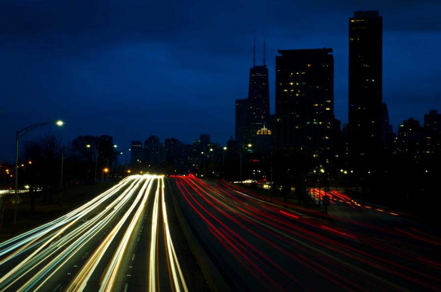 Chicago traffic. Credit: Rick Seidel/CC-BY-2.0