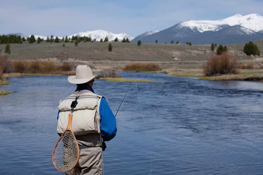 Fishing on the Big Hole River in Montana. Credit: Meera Subramanian