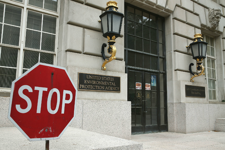 EPA headquarters. Credit: Mark Wilson/Getty Images