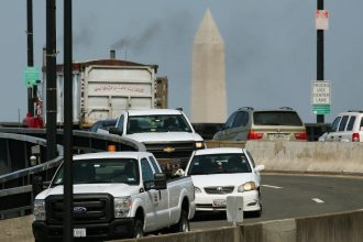 The greatest number of health impacts are linked to one deregulatory move that would open a loophole for more truck pollution. Credit: Mark Wilson/Getty Images