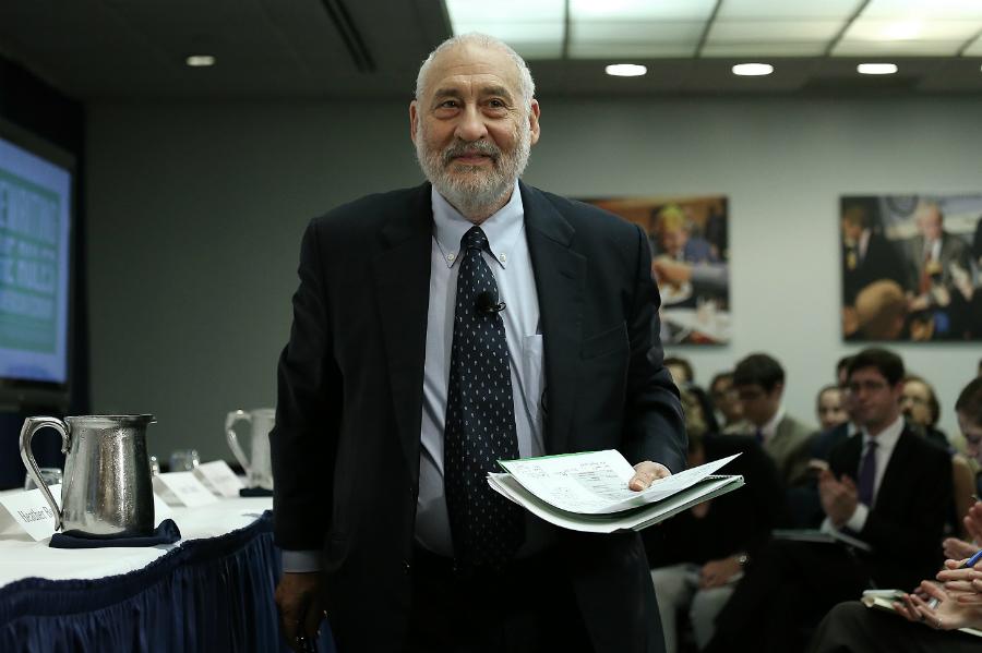 Nobel-winning economist Joseph Stiglitz. Credit: Win McNamee/Getty Images