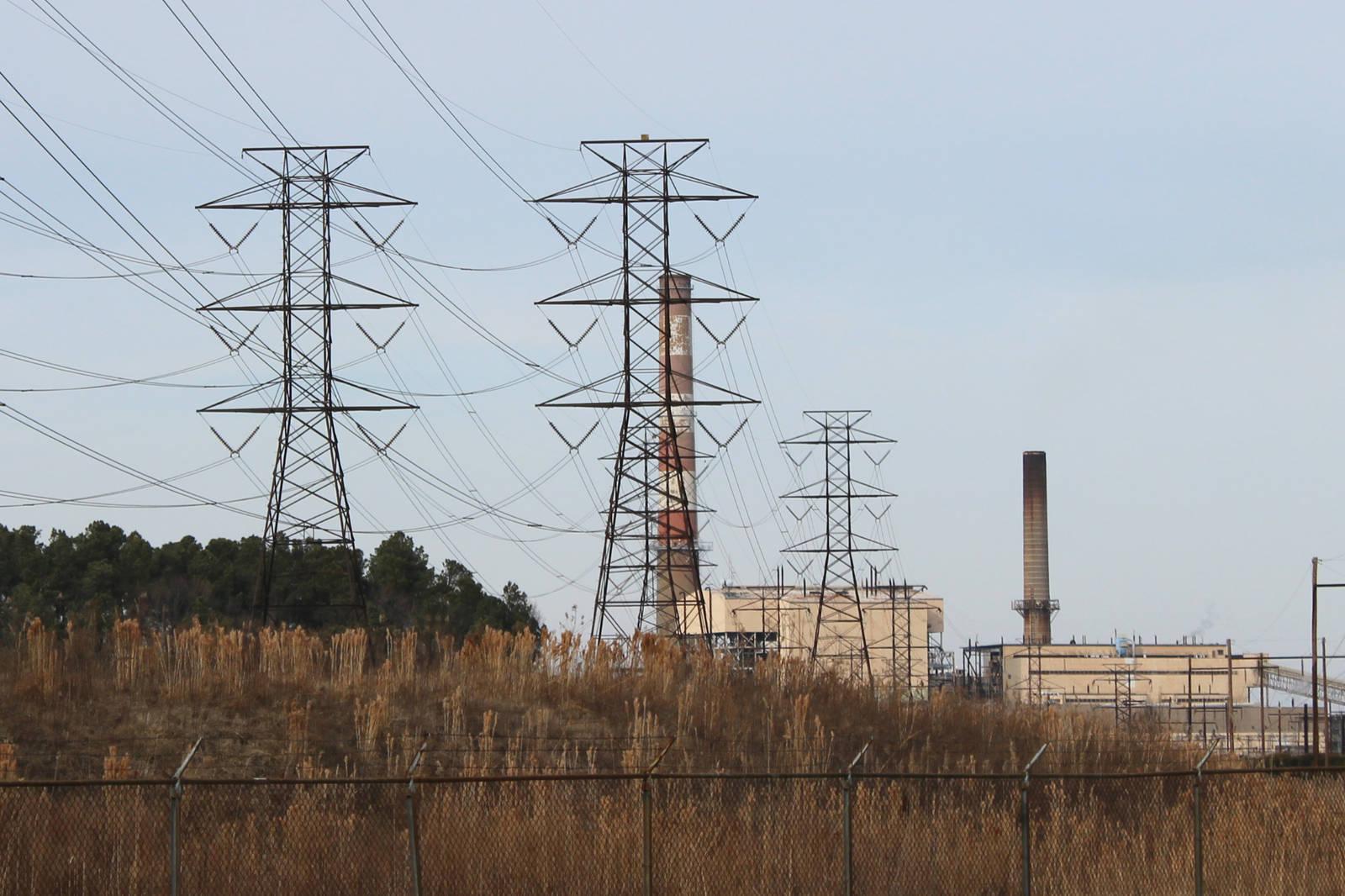 Yorktown Power Station, Virginia. Credit: Carmen Shields/CC-BY-2.0