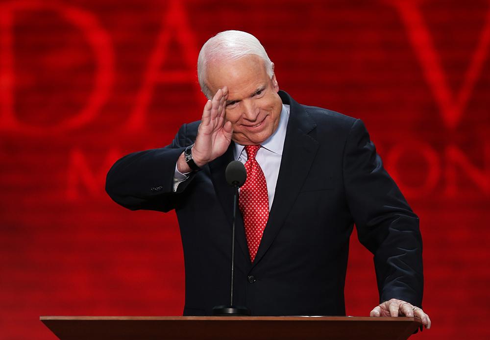 John McCain. Credit: Mark Wilson/Getty Images
