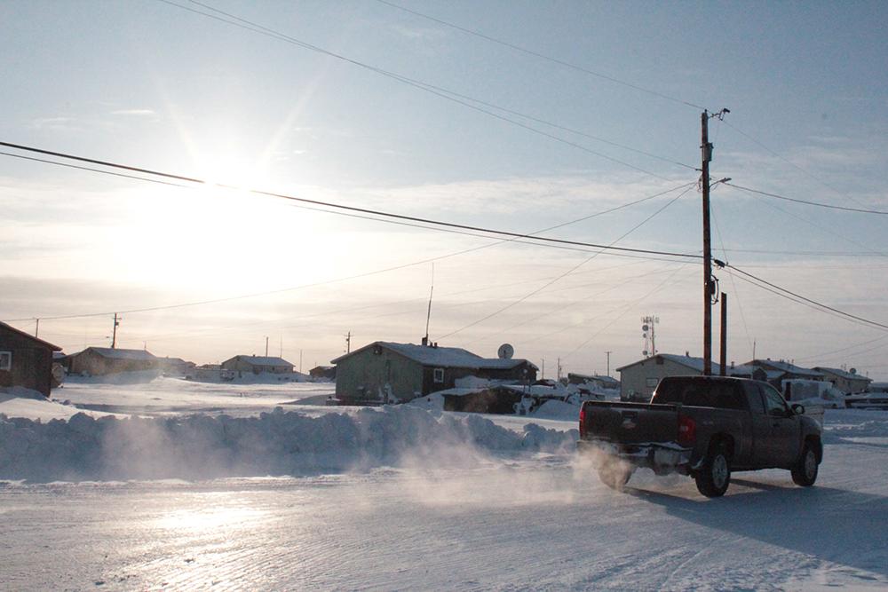 The village of Nuiqsut, Alaska. Credit: Sabrina Shankman/InsideClimate News