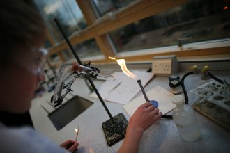 Understanding climate science should start in science class, the NSTA says.  Credit: Peter Macdiarmid/Getty Images