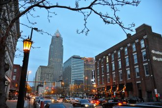 Cleveland, Ohio. Credit: Chris Gent/CC-BY-SA-4.0