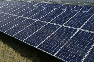 AEP's solar farm plan faces challenges as it goes through the regulatory approval process. Credit: Kerry Sheridan/AFP/Getty Images