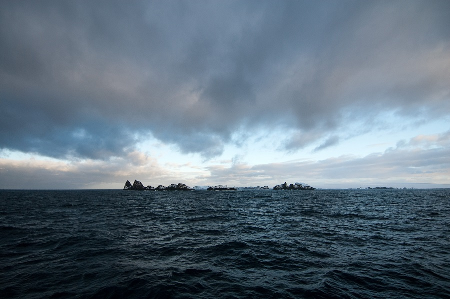 The Southern Ocean, approaching the coast of Antarctica. Credit: Oliver Dodd/CC-BY-2.0