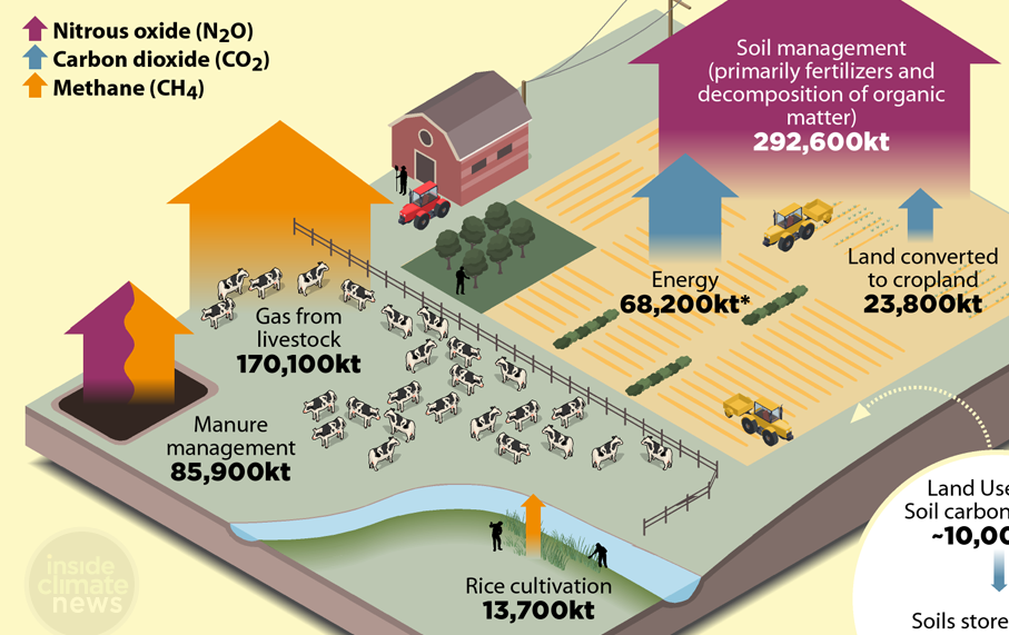 Infographic: How farmers and soils are uniquely positioned to fight climate change