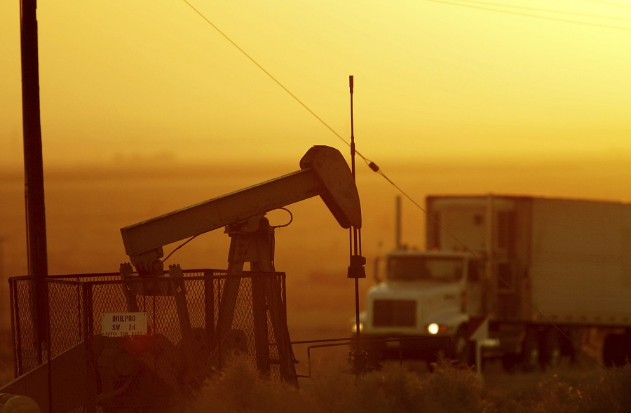 Short-lived climate pollutants like methane released from oil and gas fields and black carbon from diesel engines are many times more powerful than carbon dioxide but don't last as long in the atmosphere. Credit: David McNew/Getty Images