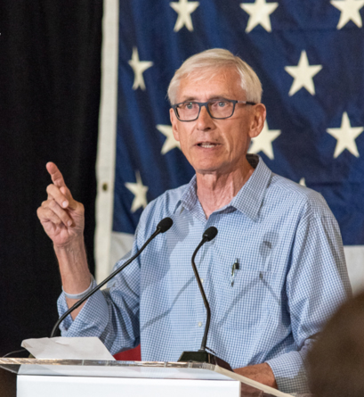 Tony Evers. Credit: Evers Campaign