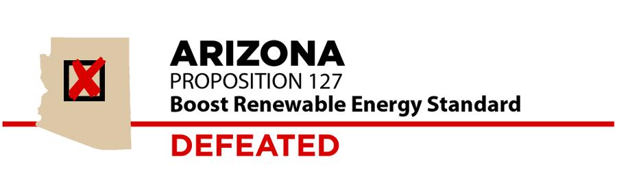 Arizona: Renewable energy ballot measure