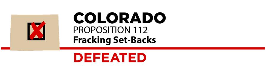 Colorado: Fracking set-backs ballot measure