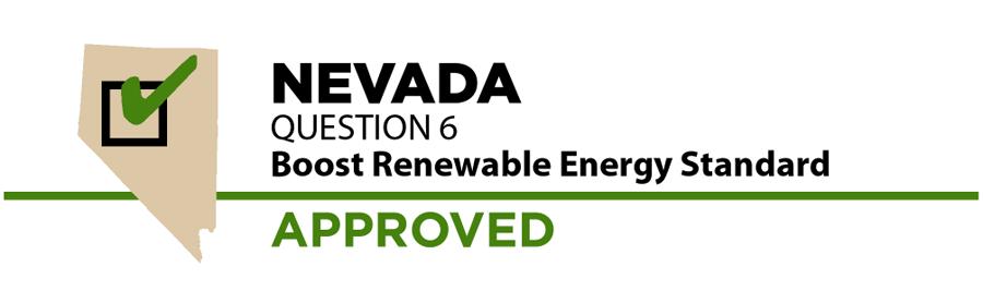 Nevada: Renewable energy ballot measure