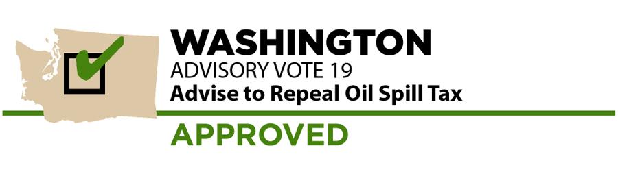 Washington: Non-binding advisory vote on the oil tax