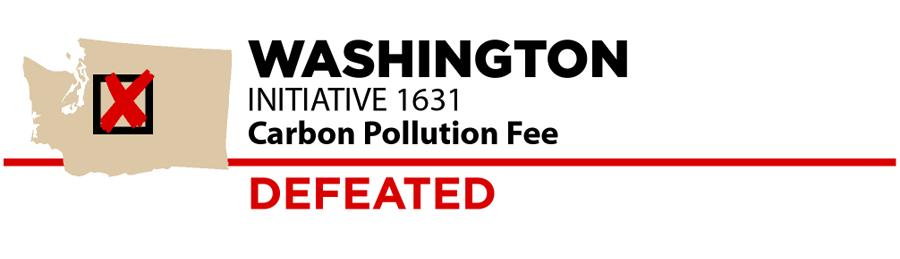 Washington: Carbon fee ballot measure
