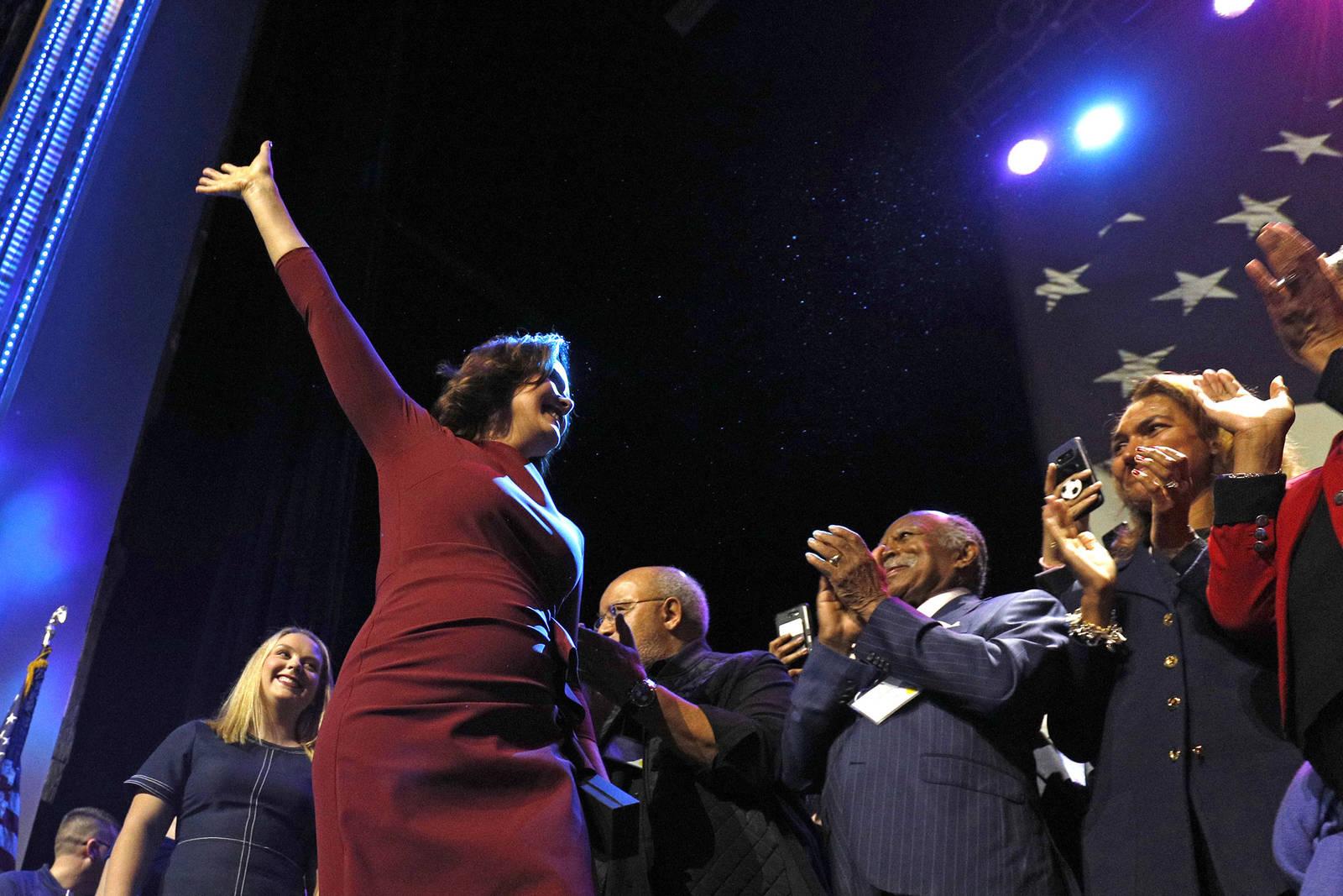 Michigan Governor-elect Gretchen Whitmer, a Democrat, supports clean energy. Credit: Bill Pugliano/Getty Images