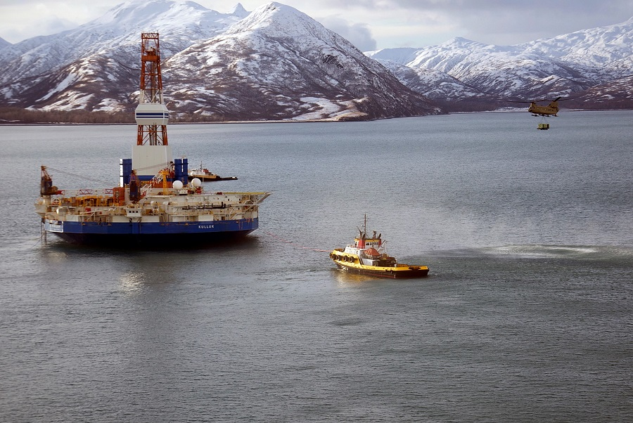 Early exploratory wells in the American Arctic didn't produce enough oil or gas, and with falling oil prices, many large companies abandoned plans for the region. New attempts are running into other challenges. Credit: Sgt. Aaron M. Johnson/U.S. Air Force