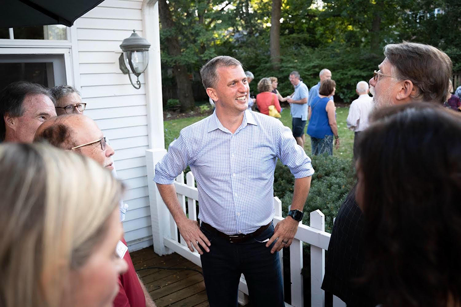 Sean Casten, an engineer elected to the U.S. House from Chicago's suburbs. Credit: Casten Campaign