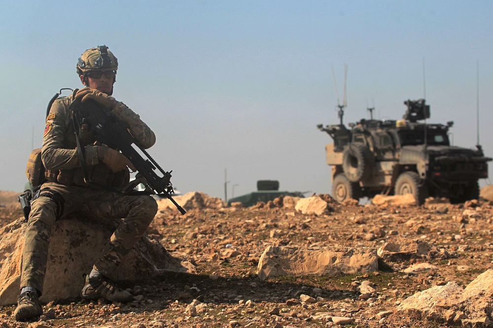 Special Forces soldiers in Iraq. Credit: Ahmad Al-Rubaye/AFP/Getty Images