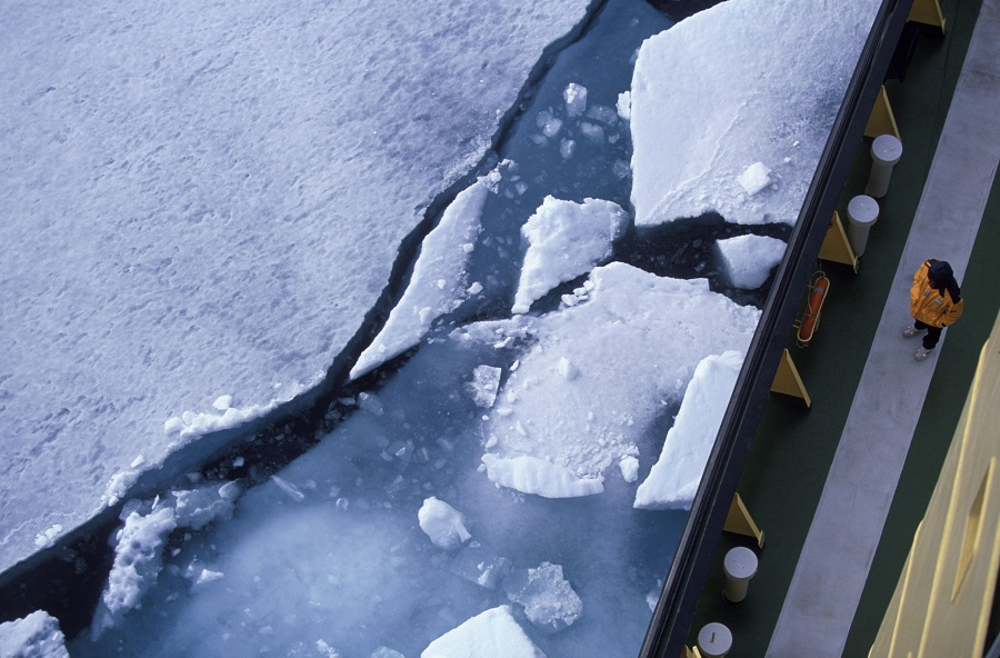 Arctic sea ice. Credit: Mark Peterson/Corbis via Getty Images