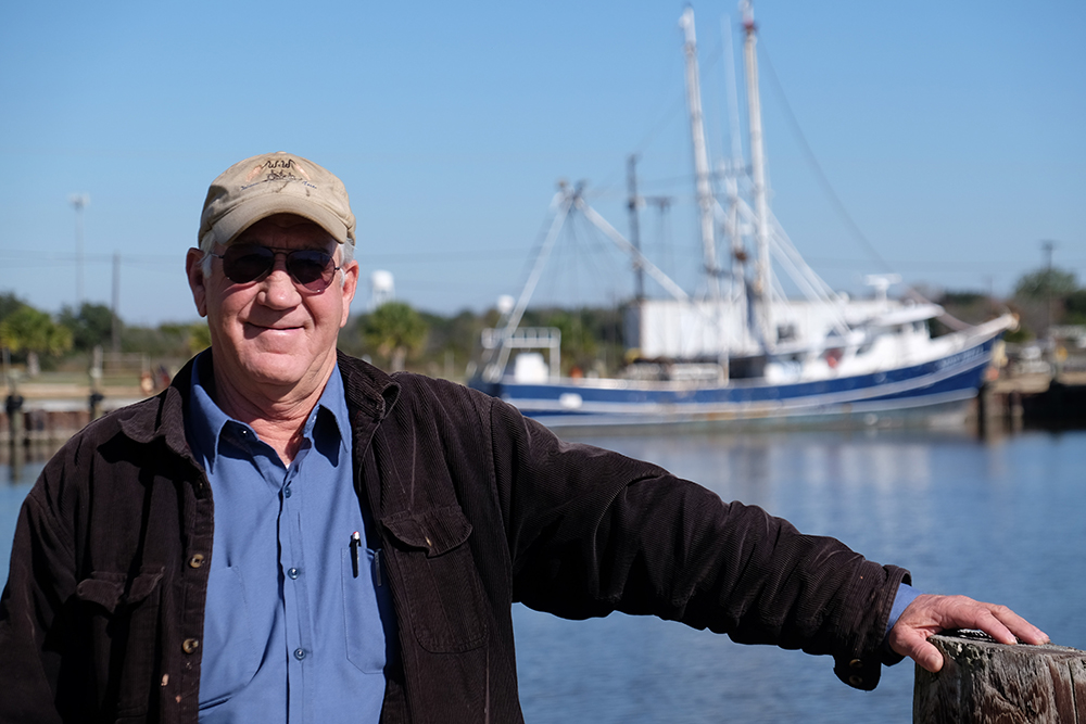 Craig Wallis, owner of W&W Dock & Ice, says the expenses for fleets keep going up while the income stagnates. Credit: Meera Subramanian