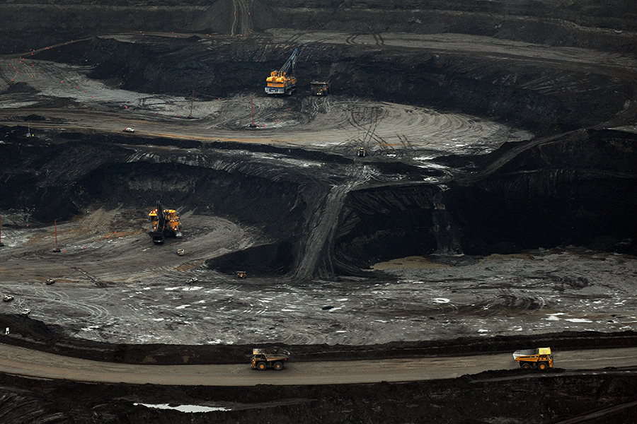 Alberta's tar sands are among the most carbon-intensive sources of oil. Credit: Mark Ralston/AFP/Getty Images