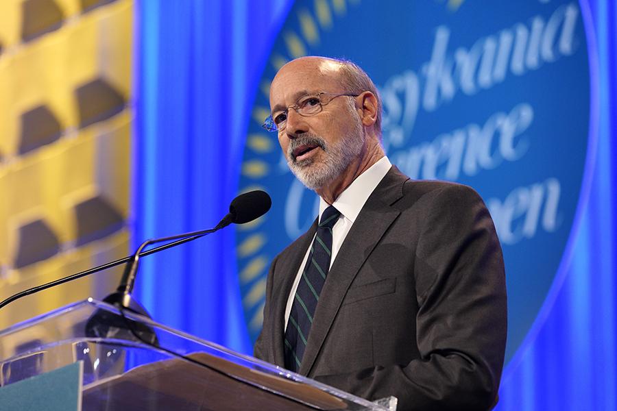Pennsylvania Gov. Tom Wolf. Credit: Marla Aufmuth/Getty Images