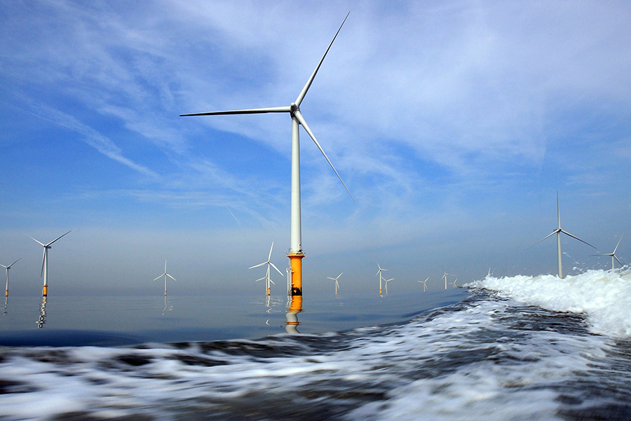 Offshore wind turbines. Credit: Christopher Furlong/Getty Images